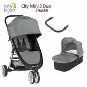 Baby Jogger City Mini 2 - 2 piezas dúo 3 ruedas Slate
