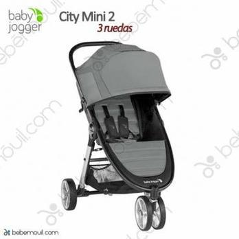 Silla de paseo Baby Jogger City Mini 2 3 ruedas Slate