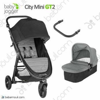 Baby Jogger City Mini GT2 - 2 piezas dúo Slate
