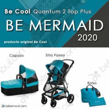 Cochecito de bebé Be Cool Quantum 2 Top Plus Be Mermaid
