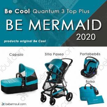 Cochecito de bebé Be Cool Quantum 3 Top Plus Be Mermaid