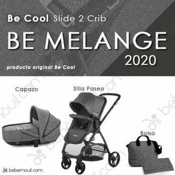 Cochecito de bebé Be Cool Slide 2 Crib Duo Be Melange