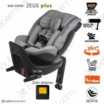 Be Cool Zeus Plus Isofix a contramarcha Icy