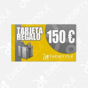 Tarjeta regalo 150 euros