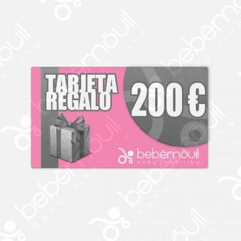 Tarjeta regalo 200 euros
