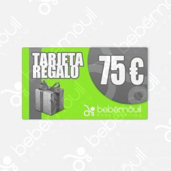 Tarjeta regalo 75 euros