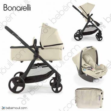 Cochecito de bebé Bonarelli 300 2.0 Marfil