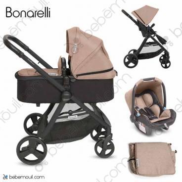 Cochecito de bebé Bonarelli 300 2.0 Edicion Limitada Trio Tofee