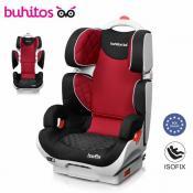 Silla de coche Buhitos Saga Fix Roja