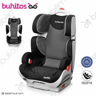 Silla de coche Buhitos Saga Fix Gris