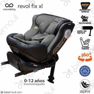 Casualplay Revol Fix XL Isofix a contramarcha Rock