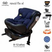 Casualplay Revol Fix XL Isofix a contramarcha Roll