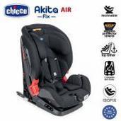 Silla de coche Chicco Akita Fix Air Black Air