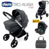Cochecito de bebé Chicco Alysia i-Size Trio Anthracite