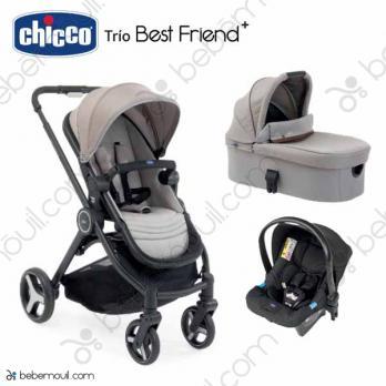 Cochecito de bebé Chicco Best Friend Plus Trio Desert Taupe