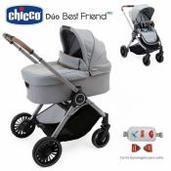 Cochecito de bebé Chicco Best Friend Pro Duo Silverleaf
