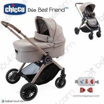 Cochecito de bebé Chicco Best Friend Pro Duo Desert Taupe