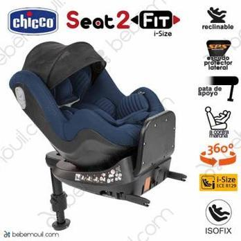 Chicco Seat2Fit i-Size Isofix a contramarcha Ink Air