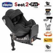Chicco Seat2Fit i-Size Isofix a contramarcha Black Air
