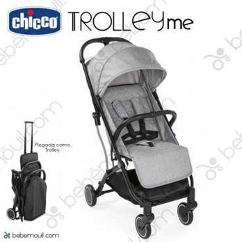 Silla de paseo Chicco Trolley Me Light Grey