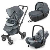 Cochecito de bebé Concord Neo Travel Set Steel Grey