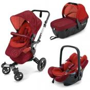 Cochecito de bebé Concord Neo Travel Set Flaming Red