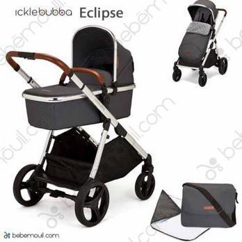 Ickle Bubba Eclipse 2 piezas dúo Graphite Grey