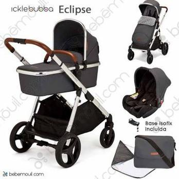Ickle Bubba Eclipse 3 piezas trío Graphite Grey