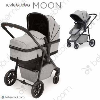 Ickle Bubba Moon 2 piezas dúo Silver Grey