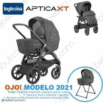Cochecito de bebé Inglesina Aptica XT Duo Charcoal Grey