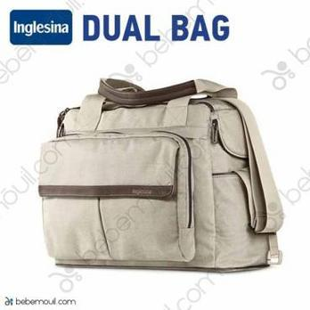 Bolso oficial Inglesina Dual Bag Cashmere Beige