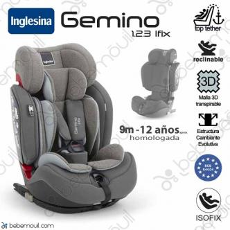 Silla de coche Inglesina Gemino i-Fix Grey