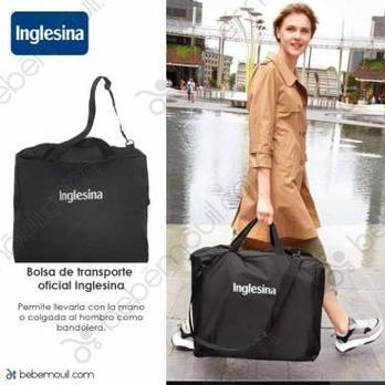 Bolsa de transporte Inglesina Travel bag Negro