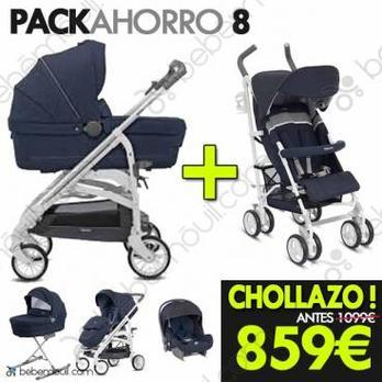 Pack de Ahorro Inglesina Trilogy Quattro & Trip Azul Marino