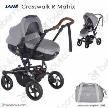 Jané Crosswalk R 2 piezas dúo Matrix Dim Grey