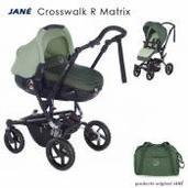 Jané Crosswalk R 2 piezas dúo Matrix Forest Green