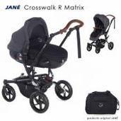 Jané Crosswalk R 2 piezas dúo Matrix Cold Black