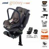 Jané Groowy Isofix a contramarcha +Nest Grey Taupe