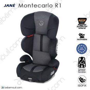 Jané Montecarlo R1 Isofix Dim Grey