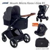 Jané Muum 3 piezas trío Micro Koos i-Size R1 Cold Black