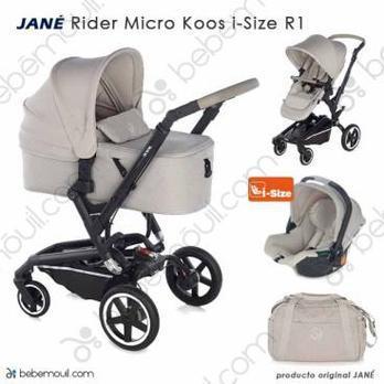 Jané Rider 3 piezas trío Micro Koos i-Size Sand