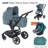 Jané Rider 3 piezas trío Micro Koos i-Size Mild Blue