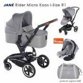 Jané Rider 3 piezas trío Micro Koos i-Size Dim Grey