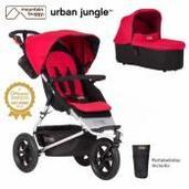 Mountain Buggy Urban Jungle 2 piezas dúo Berry