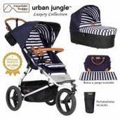 Mountain Buggy Urban Jungle 2 piezas dúo Nautical Luxury