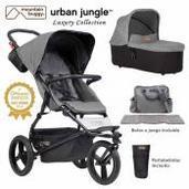 Mountain Buggy Urban Jungle 2 piezas dúo Herringbone Luxury Collection