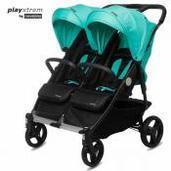 Silla de paseo gemelar Playxtrem Baby Twin Jade
