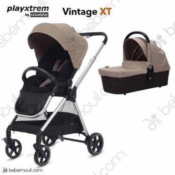 Cochecito de bebé Playxtrem Vintage XT Match 2 Duo Sahara