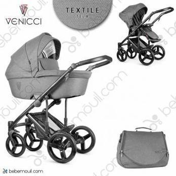 Cochecito de bebé Venicci Asti 2 in 1 Duo Graphite