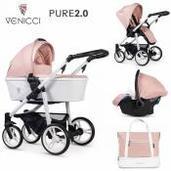 Venicci Pure 2.0 3 piezas trío Rose